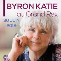 Byron Katie au Grand Rex à Paris le 30 juin.